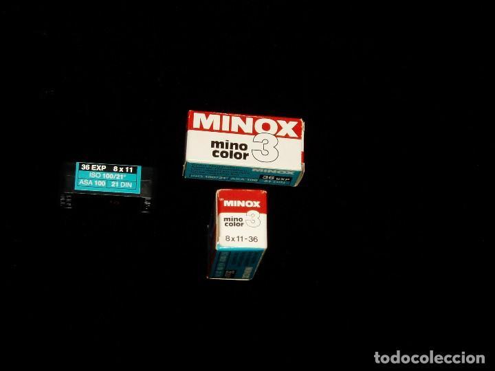 Cámara de fotos: Rollos fotográficos de Minox pasados - Foto 2 - 215307616