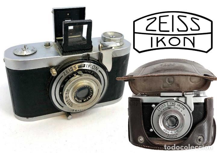 Cámara de fotos: FUNDA ESTUCHE ORIGINAL CUERO PARA CÁMARAS ZEISS IKON TENAX 1939 - Foto 3 - 216850235