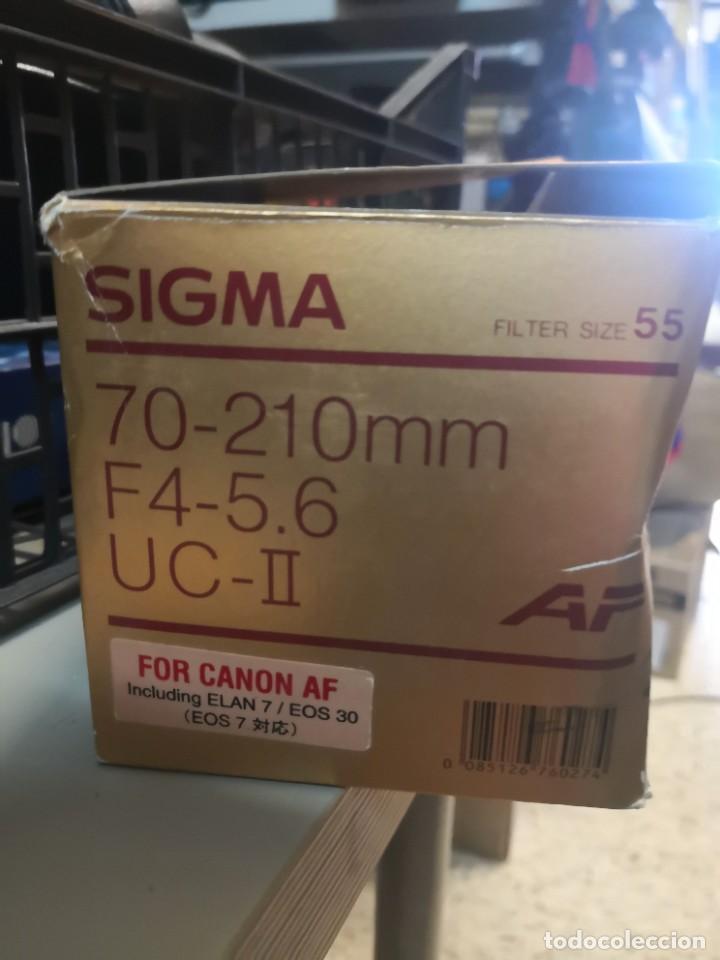 Cámara de fotos: Objetivo sigma 70-210 f/4-5.6 for canon y similares - Foto 3 - 218003640