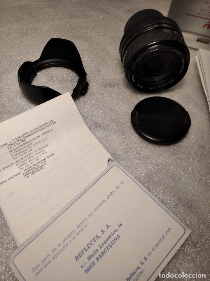 Cámara de fotos: OBJETIVO MARCA SIGMA 28MM F/2.8 MF - 52MM (PARA PENTAX) - Foto 8 - 218424700