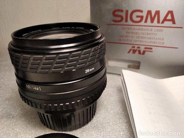 Cámara de fotos: OBJETIVO MARCA SIGMA 28MM F/2.8 MF - 52MM (PARA PENTAX) - Foto 11 - 218424700
