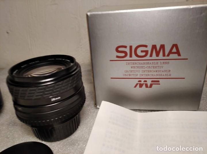 Cámara de fotos: OBJETIVO MARCA SIGMA 28MM F/2.8 MF - 52MM (PARA PENTAX) - Foto 13 - 218424700
