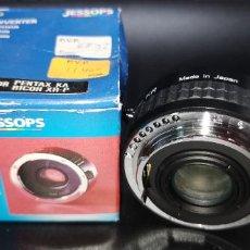 Cámara de fotos: JAPAN TELECONVERTER 2X AUTO PARA PENTAX KA Y RICHOH XR-P NUEVO A ESTRENAR. Lote 218819986