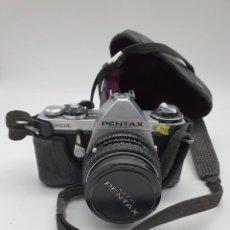 Cámara de fotos: ANTIGUA CAMARA FOTOGRAFICA PENTAX ASAHI CON FUNDA ORIGINAL. Lote 218959301
