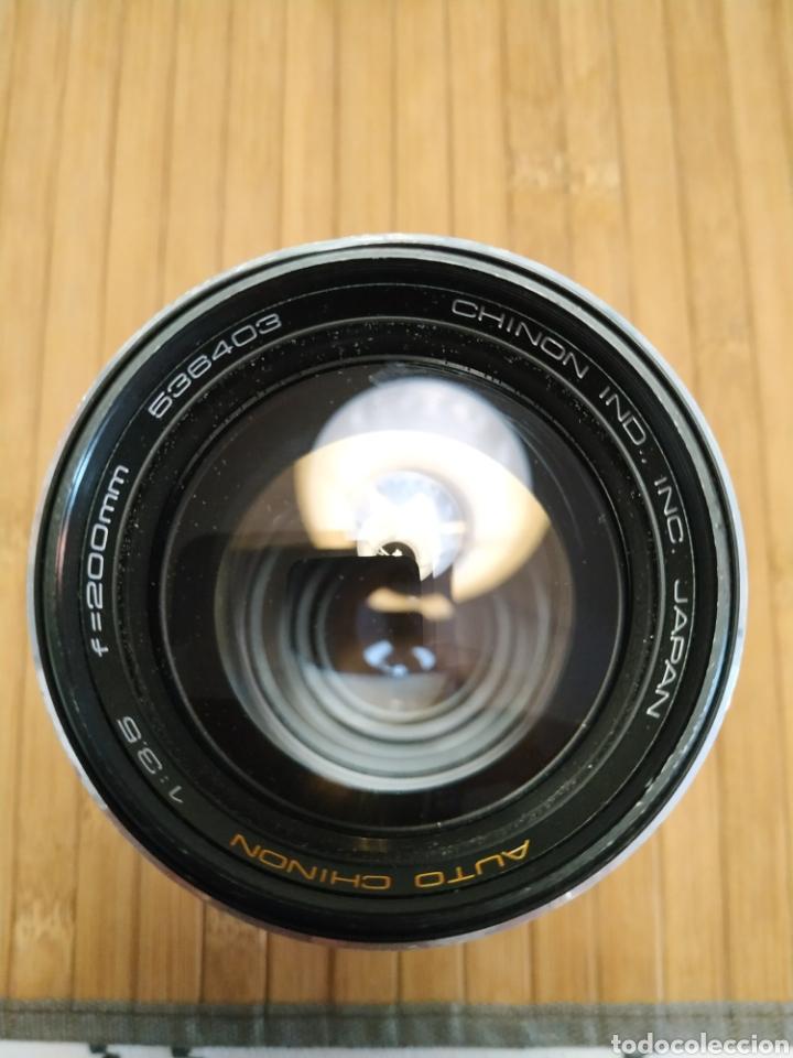 Cámara de fotos: Auto chinon 200mm f 3.5 - Foto 3 - 219207802