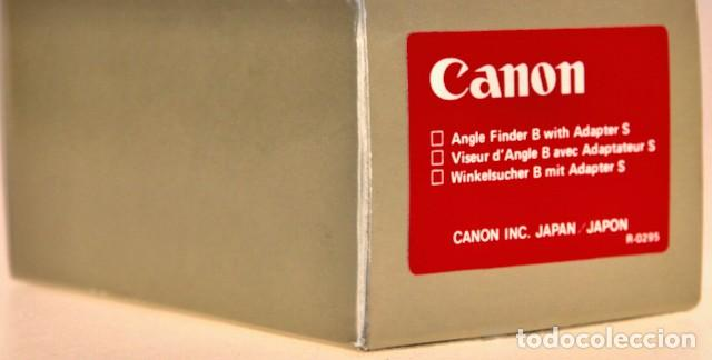 Cámara de fotos: Visor Angulo Bajo CANON JAPAN. Como Nuevo Sin uso - Foto 2 - 219329511