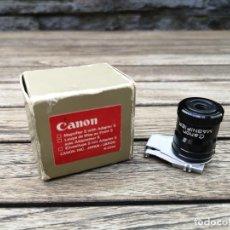 Cámara de fotos: CANON VISOR LUPA PARA CÁMARAS SERIE A. Lote 221291602