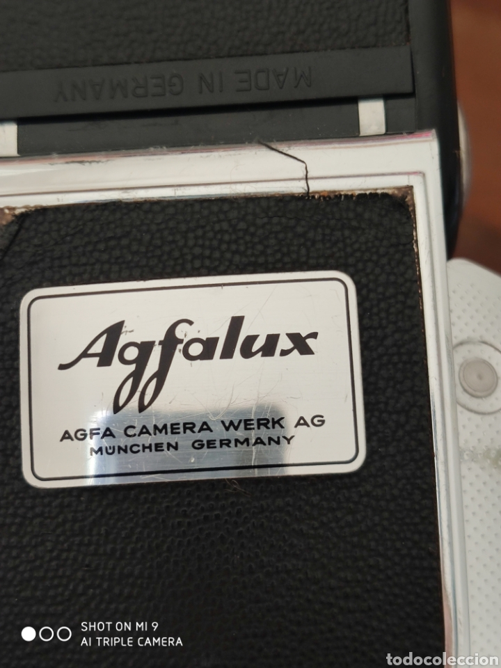 Cámara de fotos: FLASH AGFALUX, AGFA CAMERA WERK AG, GERMANY. - Foto 13 - 221340853