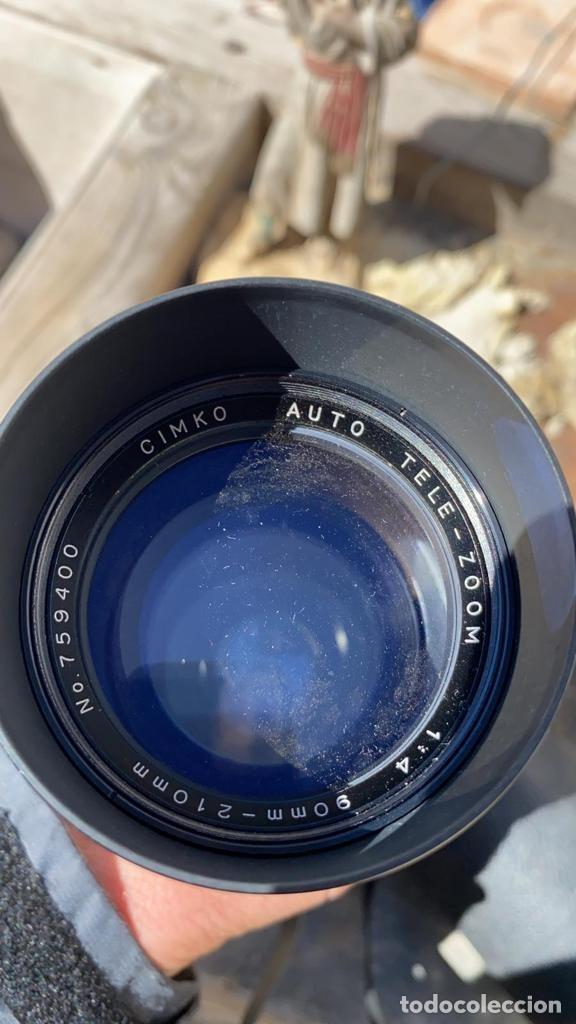Cámara de fotos: OBJETIVO ANTIGUO CON ZOOM DE CAMARA CIMKO DE 90 A 210 MM. - Foto 2 - 221499970