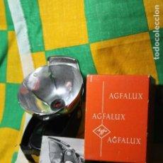 Cámara de fotos: FLASH AGFALUX DE BOMBILLAS EN SU CAJA ORIGINAL. Lote 221680378