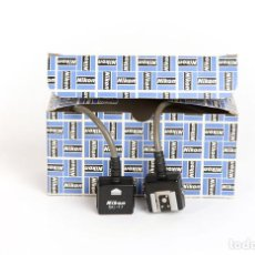 Cámara de fotos: NIKON SC-17 CABLE PARA CONTROL TTL DE FLASH EXTERNO. Lote 215800888