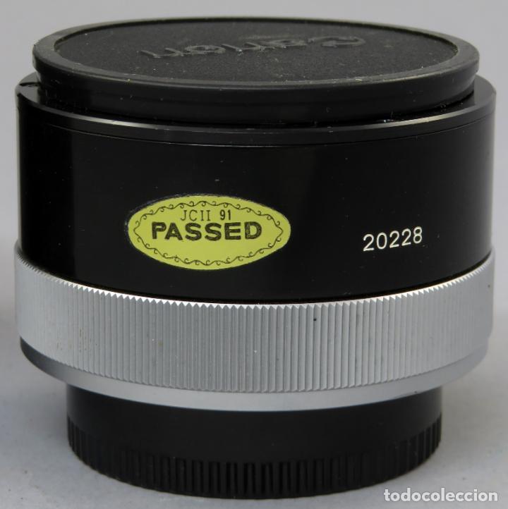 Cámara de fotos: Tubo de extensión de objetivo Extender FD 2x A Canon en su funda original - Foto 3 - 222015461