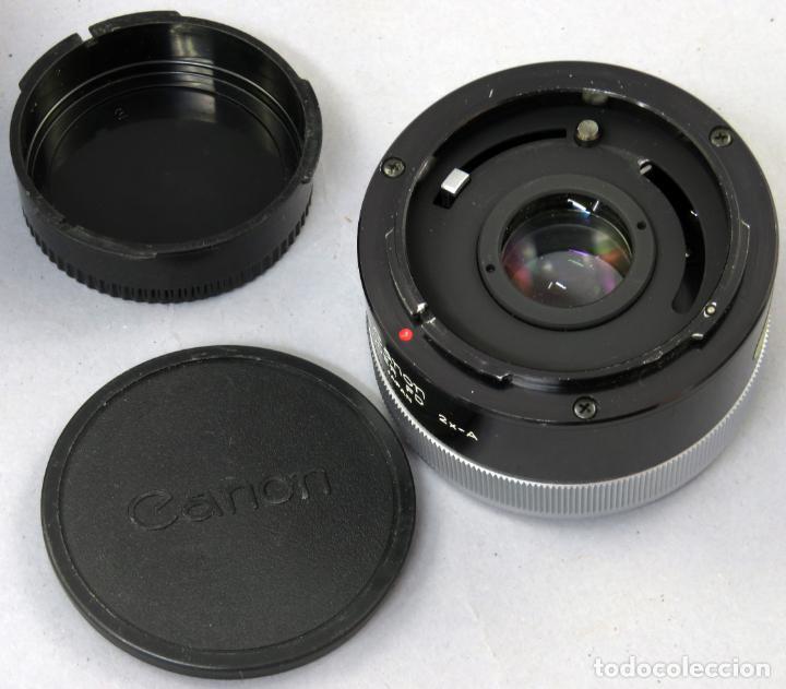 Cámara de fotos: Tubo de extensión de objetivo Extender FD 2x A Canon en su funda original - Foto 5 - 222015461