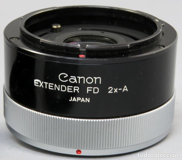 Cámara de fotos: Tubo de extensión de objetivo Extender FD 2x A Canon en su funda original - Foto 7 - 222015461