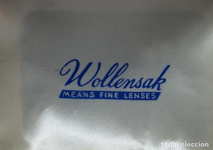 Cámara de fotos: Juego de lentes y flitros Wollensak Rochester Nueva York años 60 en su estuche original - Foto 3 - 222016695