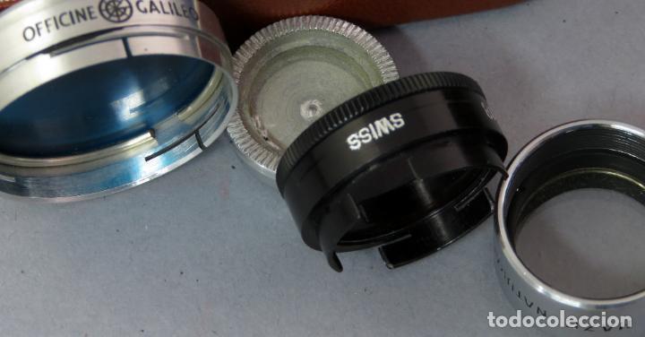 Cámara de fotos: Juego de lentes y flitros Wollensak Rochester Nueva York años 60 en su estuche original - Foto 5 - 222016695
