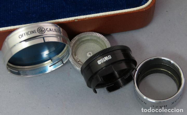 Cámara de fotos: Juego de lentes y flitros Wollensak Rochester Nueva York años 60 en su estuche original - Foto 6 - 222016695