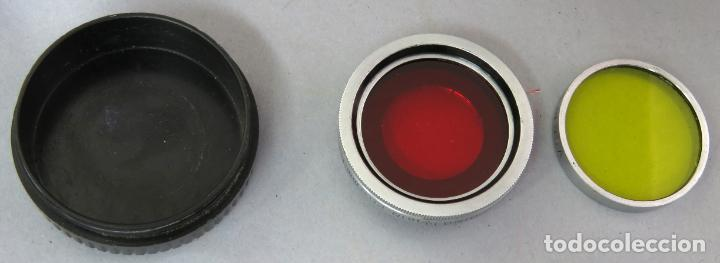 Cámara de fotos: Teleobjetivo de 38 mm F4 5 y lentes by Kodak Rochester Estados Unidos en su estuche original años 60 - Foto 8 - 222017516