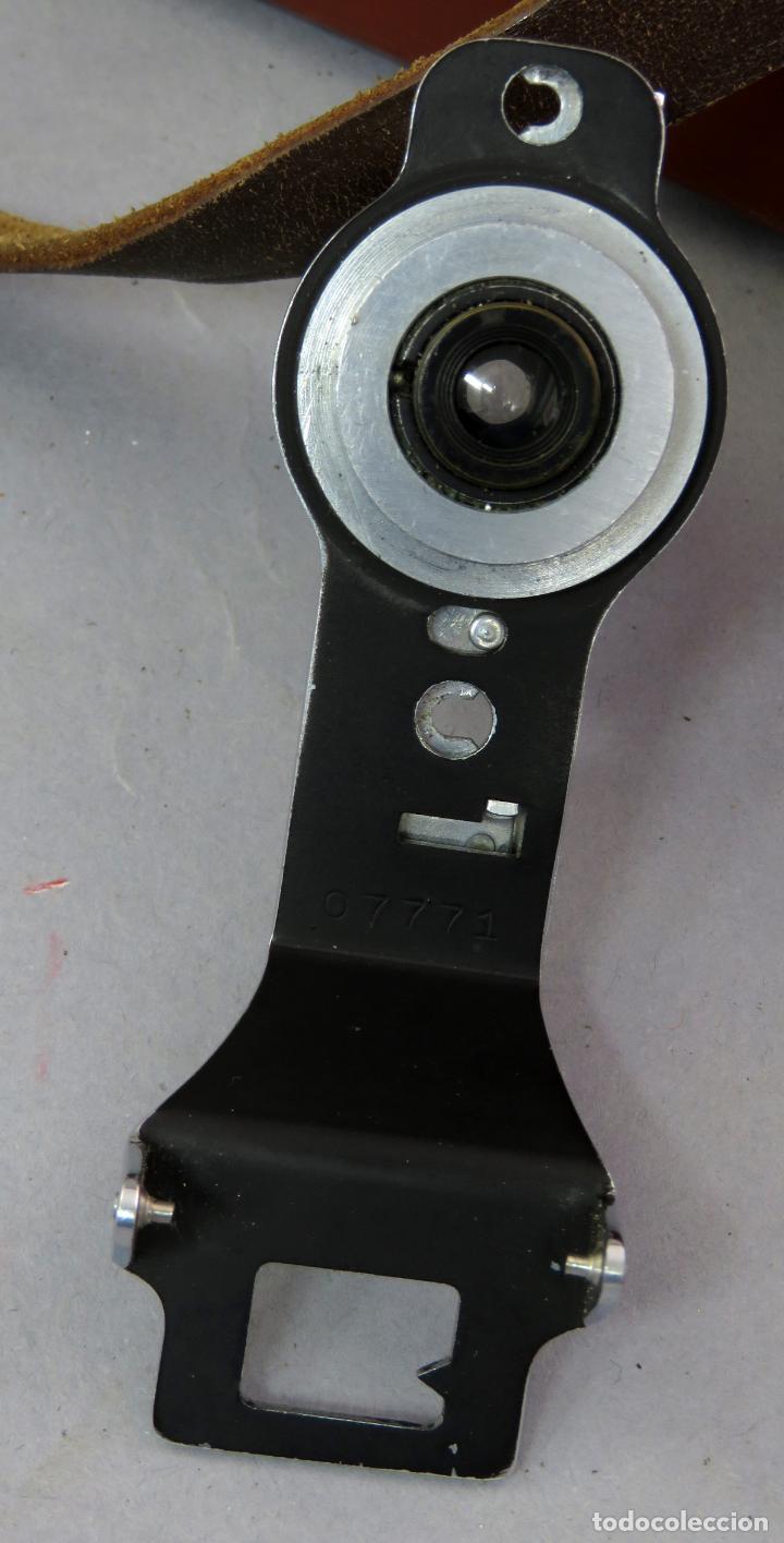Cámara de fotos: Teleobjetivo de 38 mm F4 5 y lentes by Kodak Rochester Estados Unidos en su estuche original años 60 - Foto 9 - 222017516