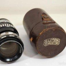 Cámara de fotos: OBJETIVO VINTAGE 135MM 'CARSEN TELEPHOTO LENS' C. 1940. Lote 222018180