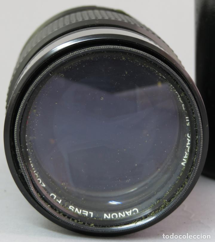 Cámara de fotos: Objetivo Canon Lens FD 200mm en su funda rígida original - Foto 2 - 222023483