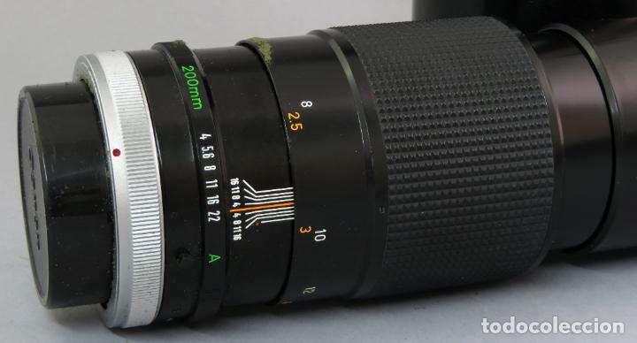 Cámara de fotos: Objetivo Canon Lens FD 200mm en su funda rígida original - Foto 5 - 222023483