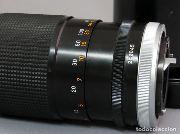Cámara de fotos: Objetivo Canon Lens FD 200mm en su funda rígida original - Foto 7 - 222023483