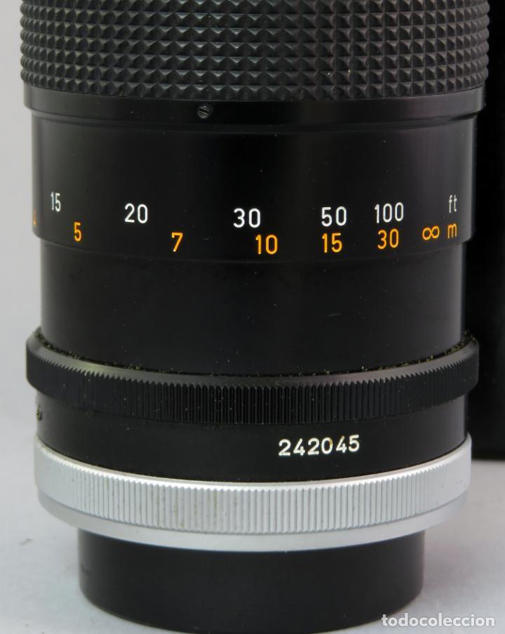 Cámara de fotos: Objetivo Canon Lens FD 200mm en su funda rígida original - Foto 9 - 222023483
