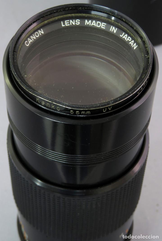 Cámara de fotos: Objetivo Canon Lens FD 200mm en su funda rígida original - Foto 10 - 222023483