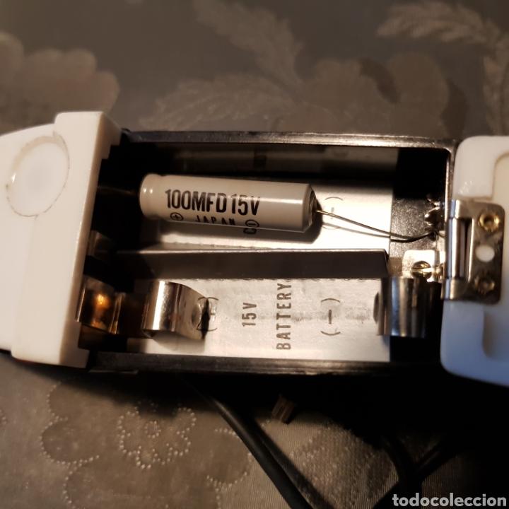 Cámara de fotos: Antiguo flash de abanico Hanimex dual compact II con su funda. - Foto 5 - 222051182
