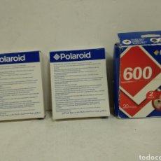 Cámara de fotos: 2 CARTUCHOS TIPO 600 PARA POLAROID SIN DESPRECINTAR. Lote 222096212
