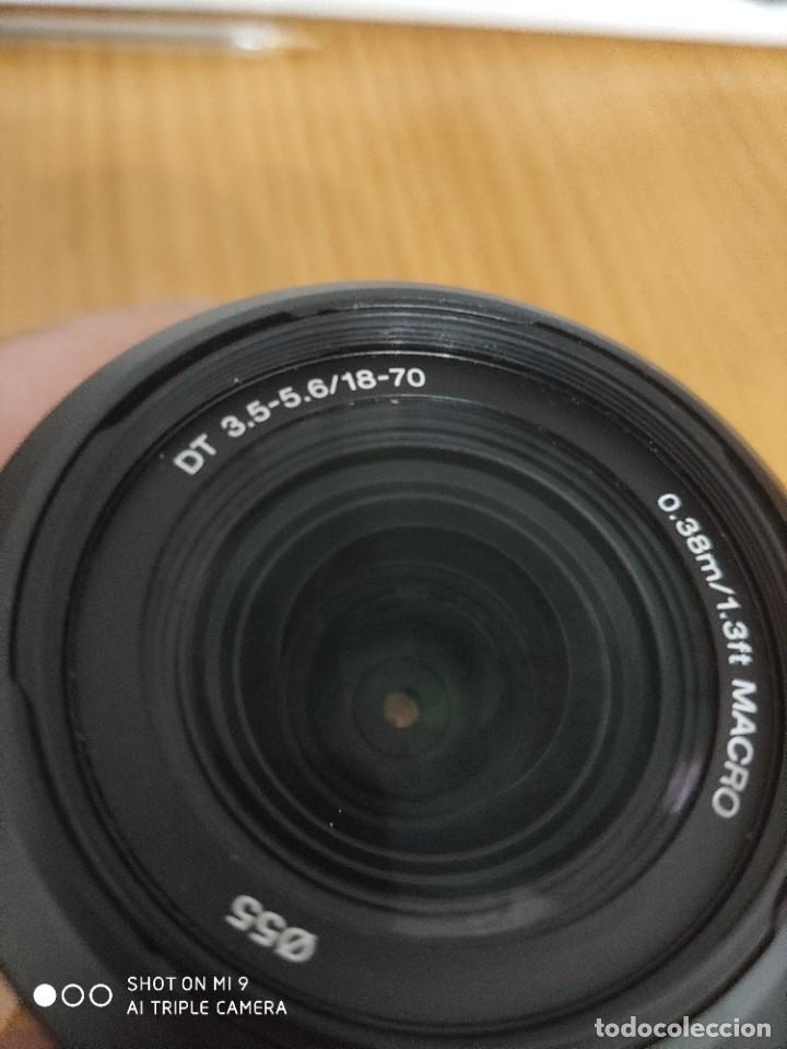Cámara de fotos: OBJETIVO SONY DT 3,5-5,6/18-70. 0,38m/1,3ft MACRO - Foto 10 - 222262750