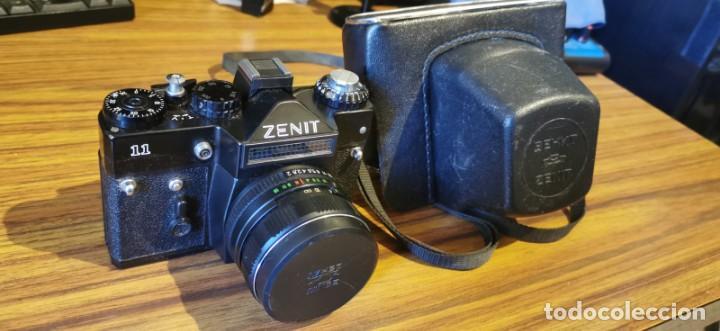 Cámara de fotos: Cámara Zenit 11 con objetivo 58 mm Helios 44M 4 - Foto 2 - 222307420
