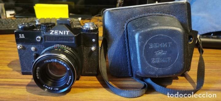 Cámara de fotos: Cámara Zenit 11 con objetivo 58 mm Helios 44M 4 - Foto 3 - 222307420