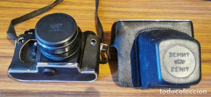 Cámara de fotos: Cámara Zenit 11 con objetivo 58 mm Helios 44M 4 - Foto 5 - 222307420
