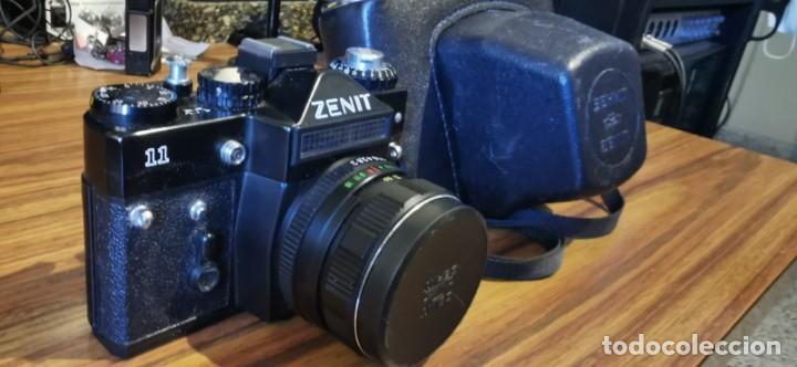 Cámara de fotos: Cámara Zenit 11 con objetivo 58 mm Helios 44M 4 - Foto 6 - 222307420