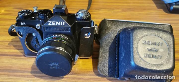 Cámara de fotos: Cámara Zenit 11 con objetivo 58 mm Helios 44M 4 - Foto 7 - 222307420