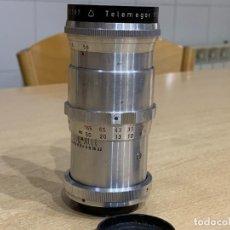 Cámara de fotos: MEYER OPTIK TELEMEGOR 180MM 5.5 PARA EXAKTA Y M42. Lote 223210736