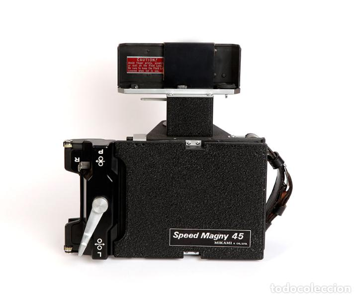 Cámara de fotos: NIKON RESPALDO Polaroid Speed Magny 45 Mikami Asanuma Japón para Nikon F - Foto 5 - 223641136