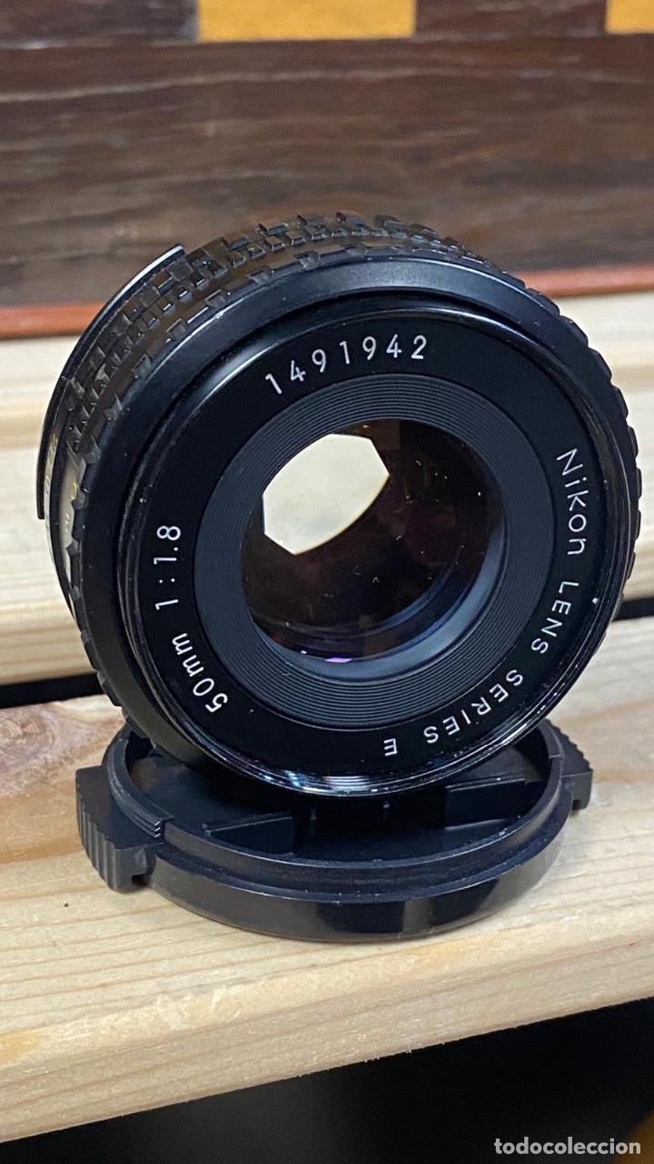 Cámara de fotos: Nikon Lens series e 50mm 50 mm 1:1 .8 1.8 - Foto 4 - 224356448
