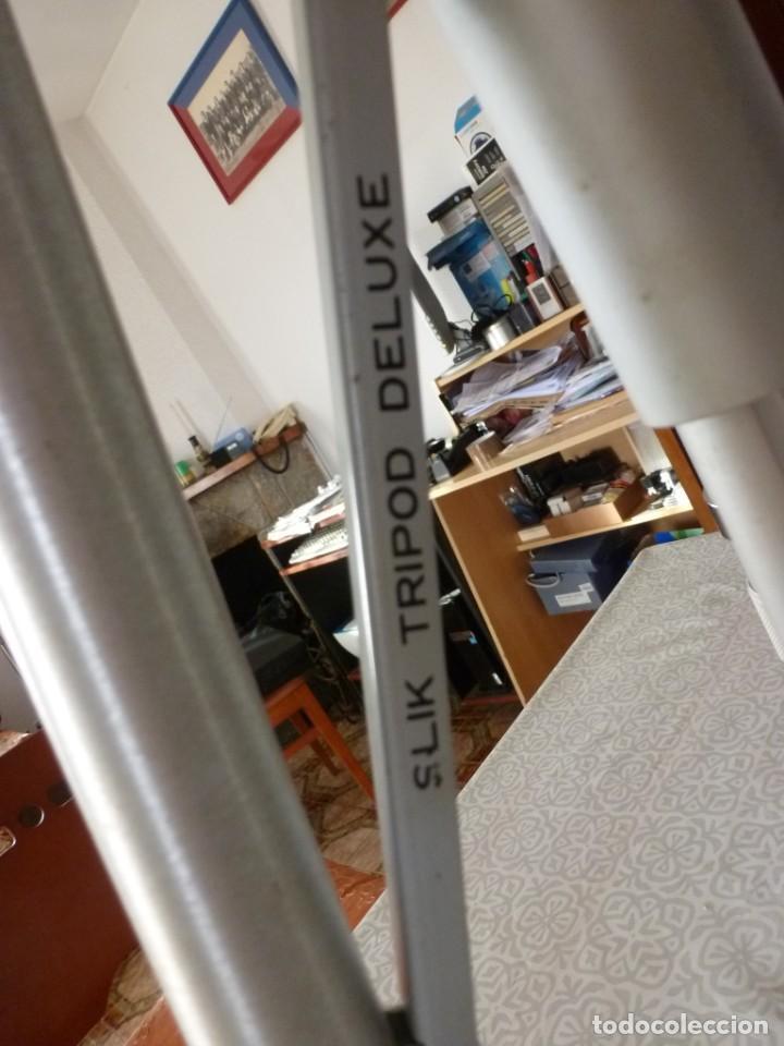 Cámara de fotos: TRIPODE SLIK MASTER (MADE IN JAPAN) TAL COMO SE VE EN LAS FOTOS - Foto 3 - 224620118