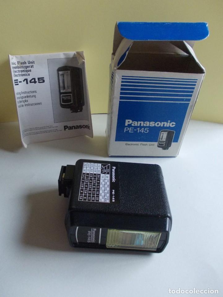 Cámara de fotos: unidad de Flash electrónico Panasonic PE - 145 sin usar - Foto 2 - 224819258