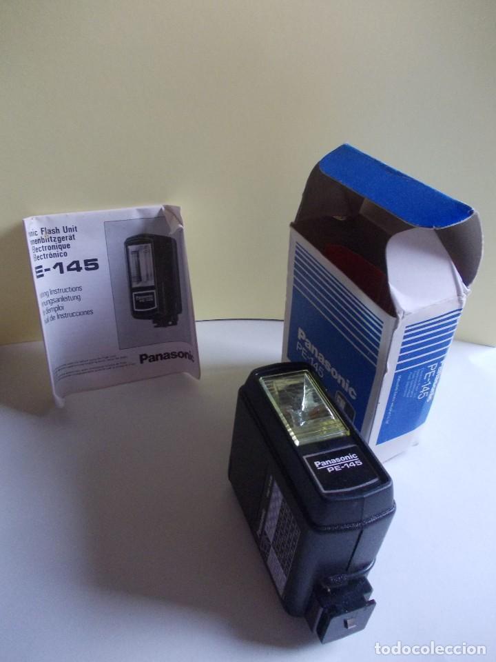 Cámara de fotos: unidad de Flash electrónico Panasonic PE - 145 sin usar - Foto 3 - 224819258