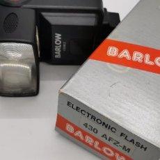 Cámara de fotos: FLASH ELECTRONIC BARLOW 430 AFZ-M NUEVO A ESTRENAR. Lote 224893966