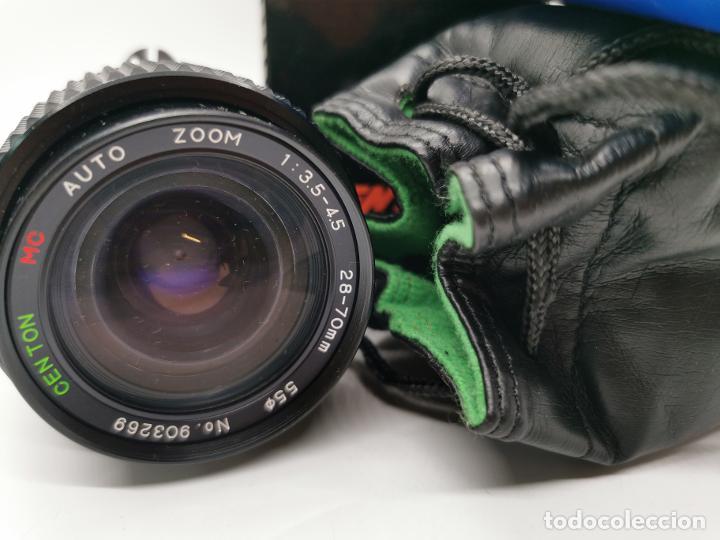 Cámara de fotos: Objetivo Centon 28-70mm f/3.5-4.5 para NIKON NUEVO A ESTRENAR - Foto 3 - 224903110