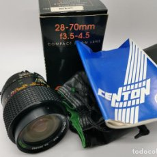 Cámara de fotos: OBJETIVO CENTON 28-70MM F/3.5-4.5 PARA NIKON NUEVO A ESTRENAR. Lote 224903110