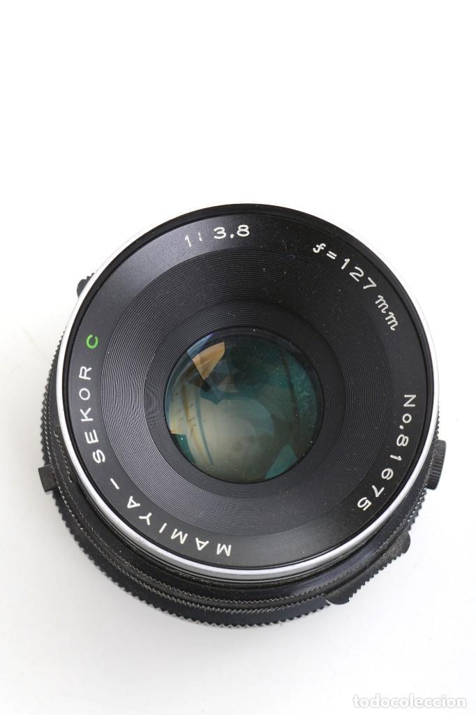 Cámara de fotos: Objetivo Mamiya-Sekor C 1:3,8 objetivo 127 mm, 77 mm diametro - Foto 5 - 224927197