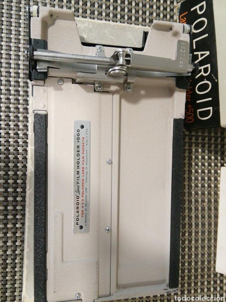 Cámara de fotos: Polaroid Land 4 x 5 Film Holder modelo 500 en caja original - Foto 2 - 225245730