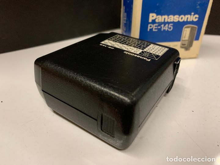 Cámara de fotos: ANTIGUO FLASH PANASONIC PE-145 para camara fotografica. en caja original e instrucciones - Foto 5 - 225359640