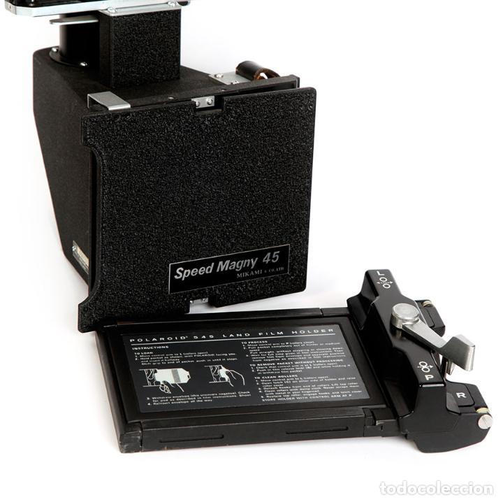 Cámara de fotos: NIKON RESPALDO Polaroid Speed Magny 45 Mikami Asanuma Japón para Nikon F - Foto 7 - 223641136